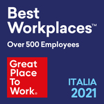 Best Workplaces Over 500 employees Italia 2021